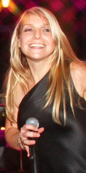 Aimee - lead singer for Retrospect Band