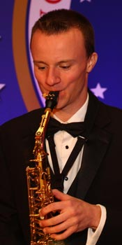 Charlie - lead sax player for Retrospect Band