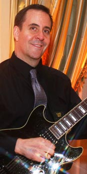 Howard - lead and rhythm guitar player for Retrospect Band