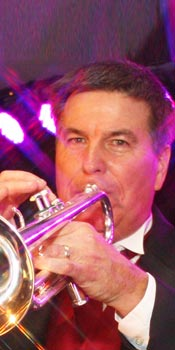 Larry - band leader and lead trumpet for Retrospect Band