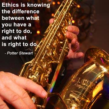 Ethics is knowing the difference between what you have a right to do, and what is right to do. - Potter Stewart