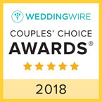 Retrospect Band receives the Wedding Wire Couple's Choice award for 2017